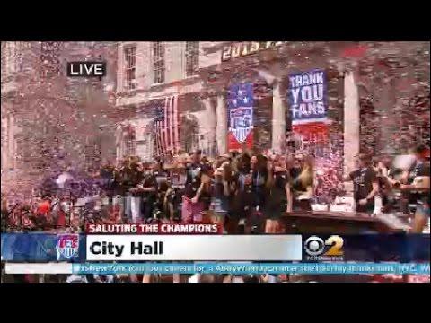 USWNT City Hall Ceremony