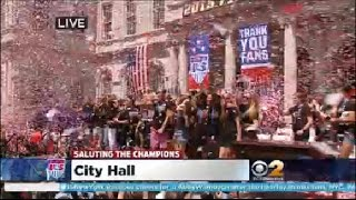 USWNT City Hall Ceremony