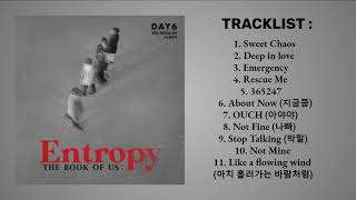 DAY6 (데이식스) - ENTROPY PART 1 [FULL ALBUM PLAYLIST]