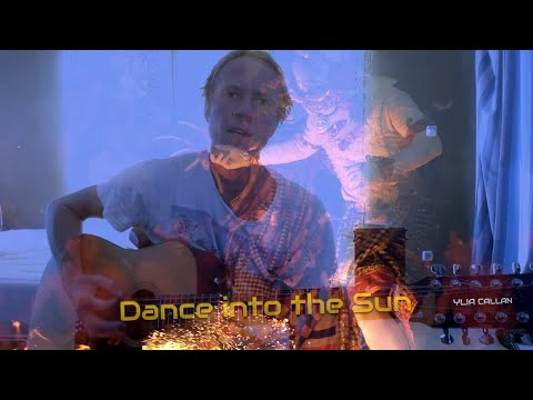 Dance into the Sun - Live Bedroom Music Video by 12 String Guitarist Ylia Callan