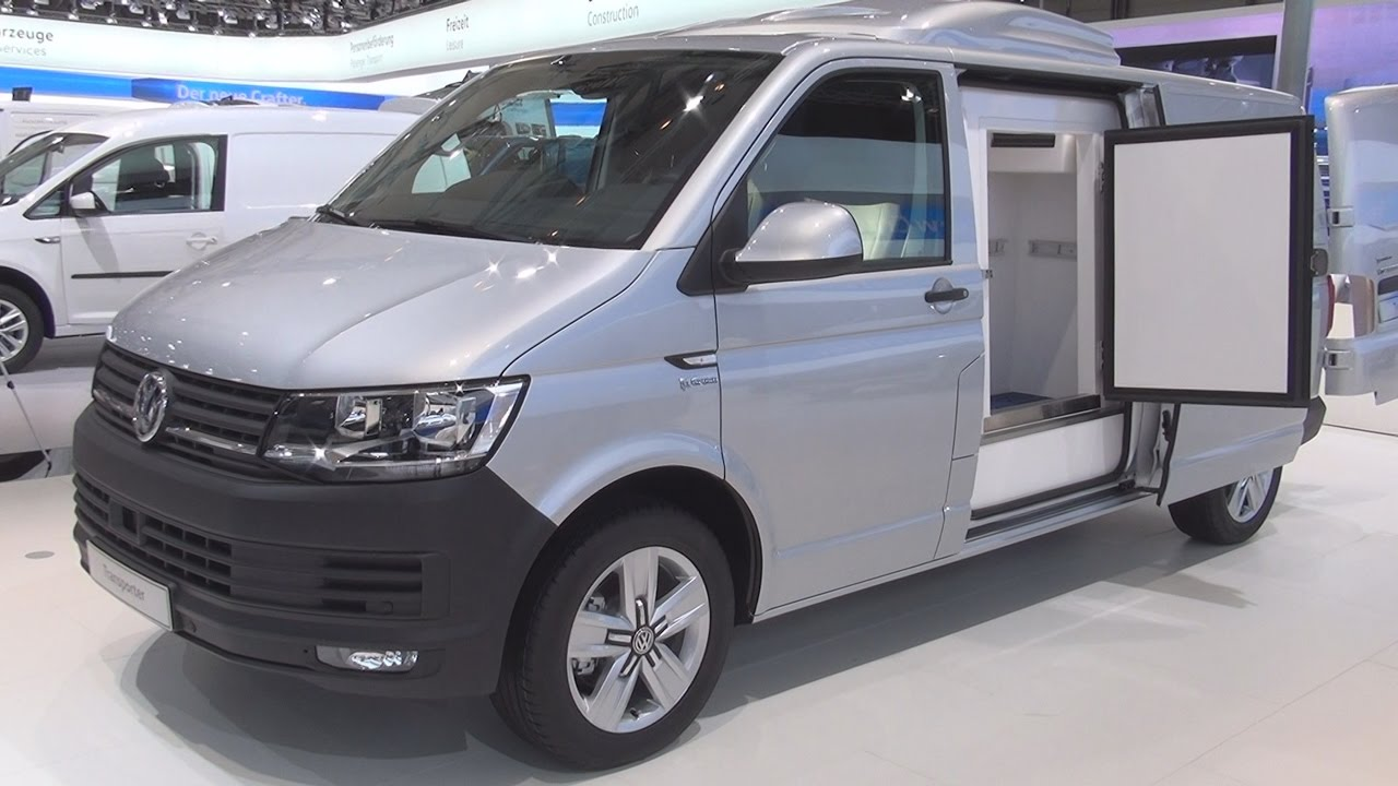 volkswagen transporter t6 longer wheelbase 2 0 tdi panel van 2017 exterior and interior in 3d. Black Bedroom Furniture Sets. Home Design Ideas