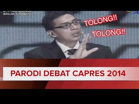 Parodi Debat Capres 2014 : Tolong Jgn Tepuk Tangan