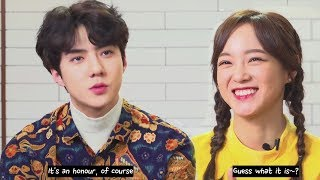 Download lagu [ENG SUB] Netflix 'BUSTED' SEJEONG & SEHUN Interviews + Behind The Scenes Compilation