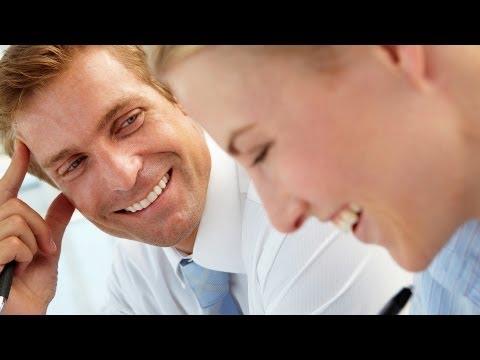 How To Flirt At Work   Flirting Lessons