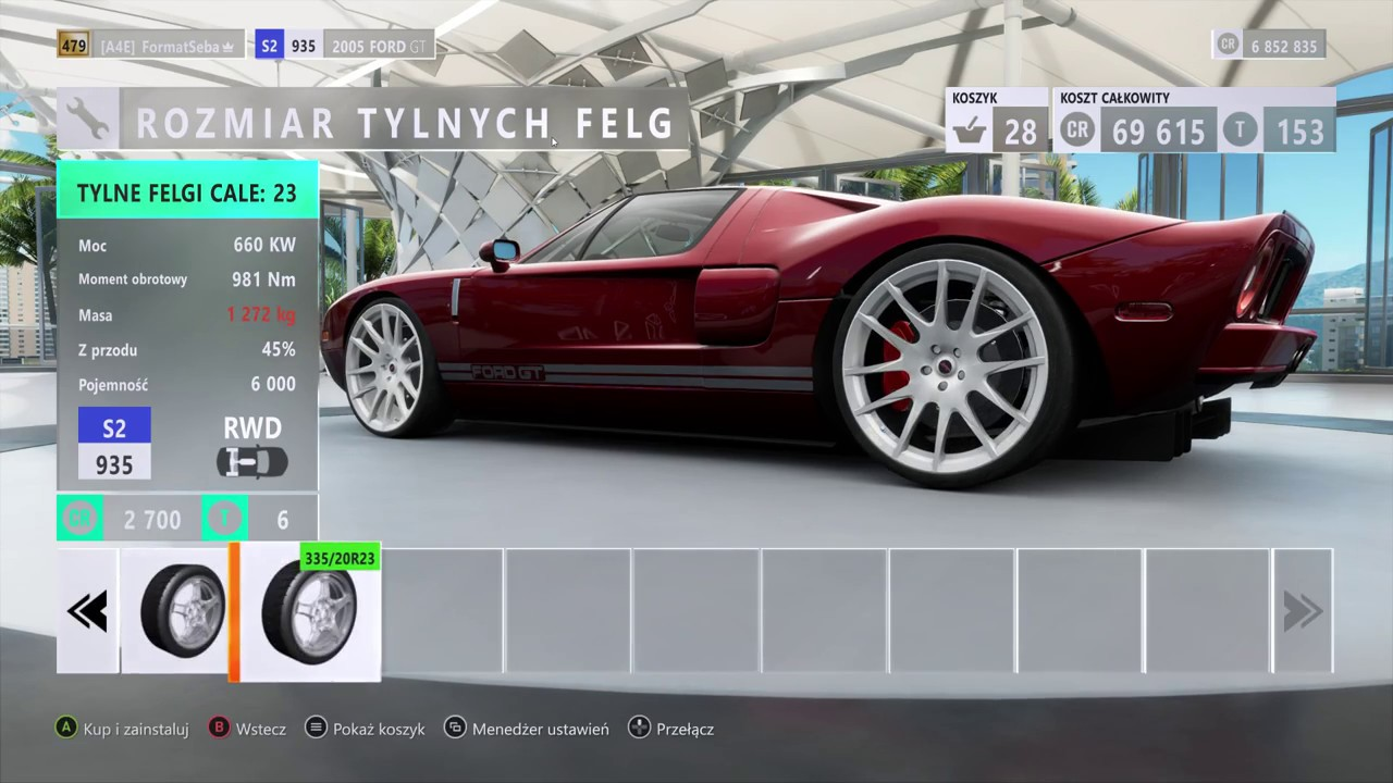 Forza Horizon Tuning  Ford Gt Top Speed