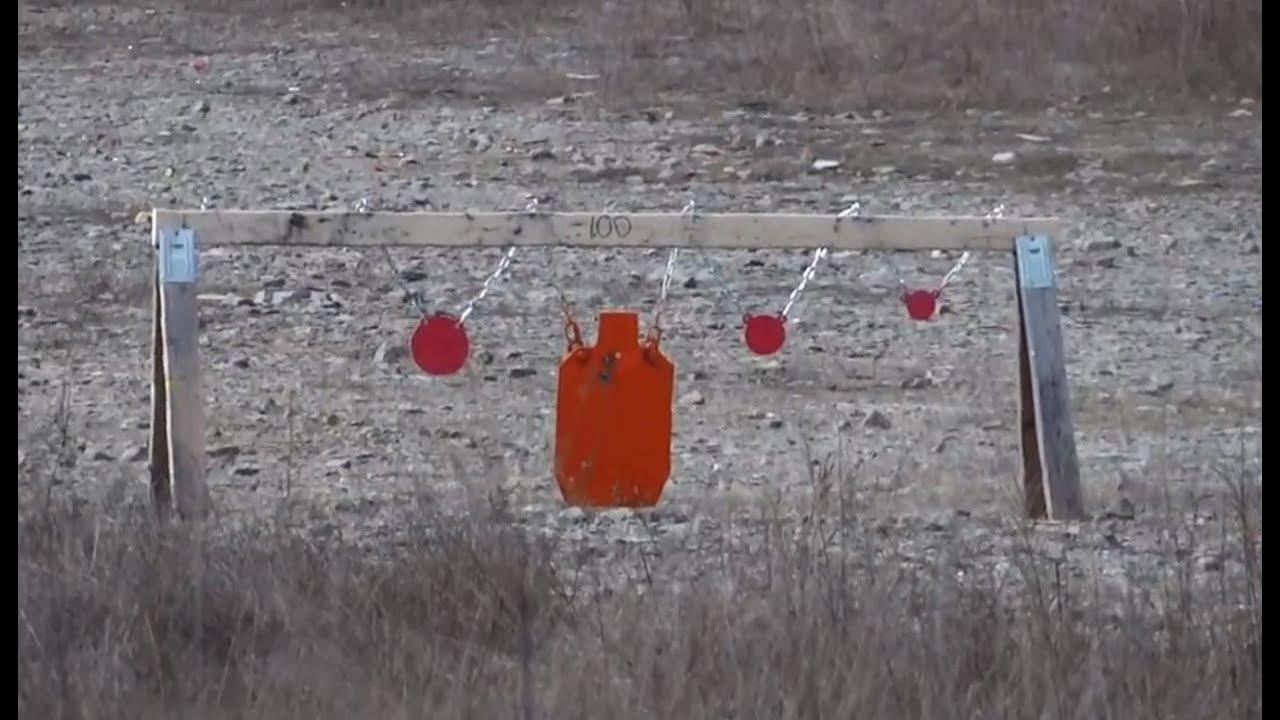 Shooting AR500 Steel Targets