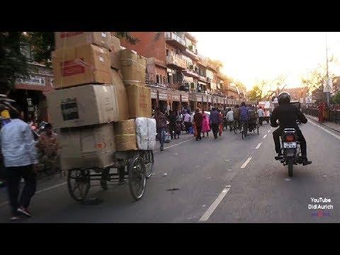 Indien Traveling India mit dem Tuck Tuck durch Jaipur die pinke Stadt Jaipur pink City