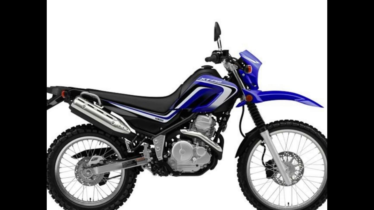 2016 Yamaha Xt250 Blue