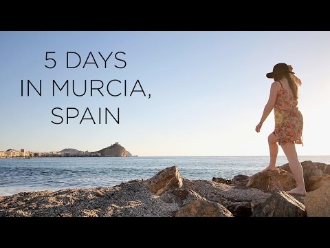5 DAYS IN MURCIA, SPAIN - TRAVEL VLOG | AWESOME WAVE