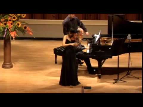 Suyeon Kang | Waxman | Carmen Fantasy  | 2014 Indianapolis International Violin Competition