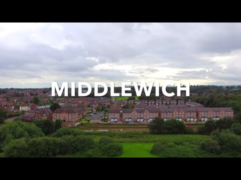BEAUTIFUL SCENERY OF MIDDLEWICH CHESHIRE IN 4K