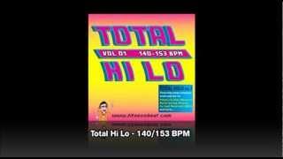 TOTAL HI LO vol1 / 140-153 BPM // Fitness Beat