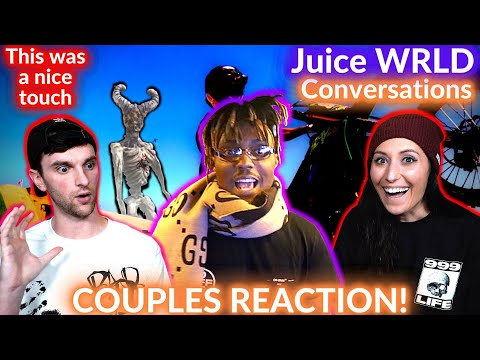 COUPLE REACTS to Juice WRLD – Conversations (Official Music Video)
