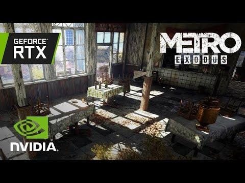 Metro Exodus: Vídeo Oficial GeForce RTX