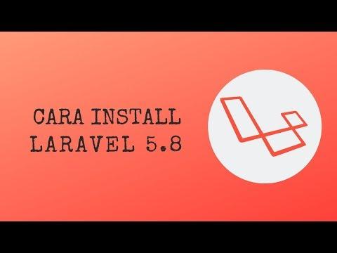 Cara Install Laravel Di Windows 8