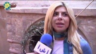 بالفيديو: أميرة فتحى : دير سانت كاترين مكان رائع وحزينة إنى لم ازرها من قبل