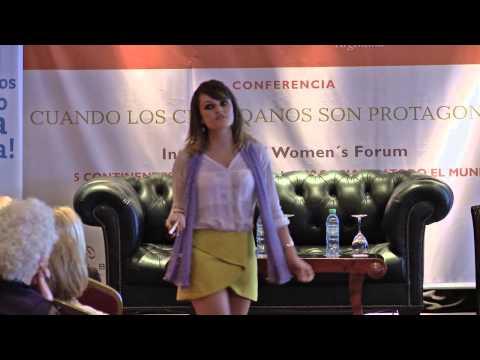 Gloria Álvarez - Conferencia de IWF Argentina- 2015