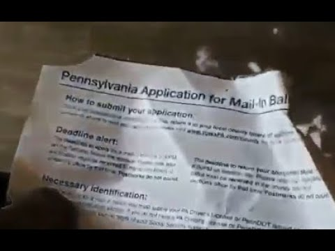 """Truck of shredded Pennsylvania """"mail in"""" ballots found in back of truck trailers"""