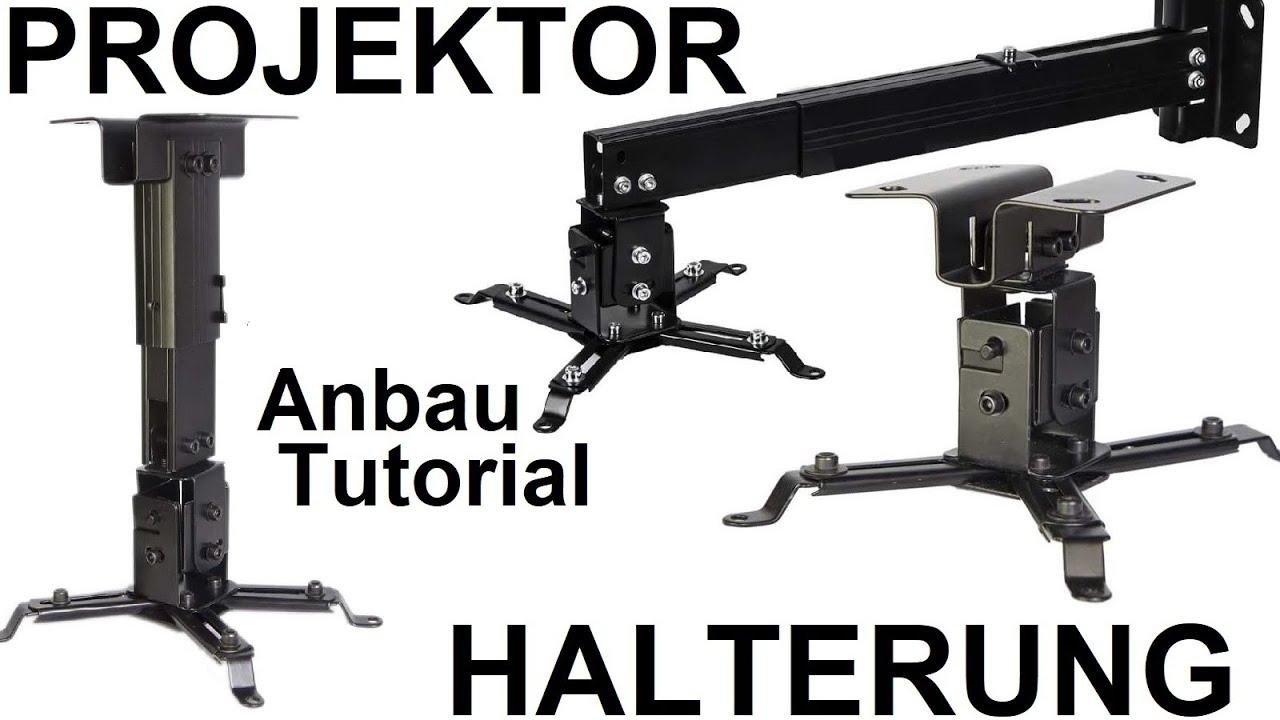 top beamer halterung decke wand montageanleitung universal heimkino projektor tipps tutorial. Black Bedroom Furniture Sets. Home Design Ideas