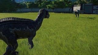 Suchomimus VS Baryonyx - Jurassic World Evolution