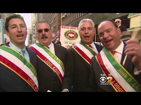 Italian American Pride On Display