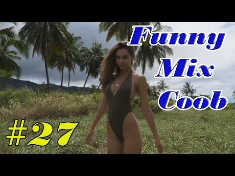 ЛУЧШИЕ ПРИКОЛЫ Октябрь   BEST FAIL #27 2017   Funny Mix Coob