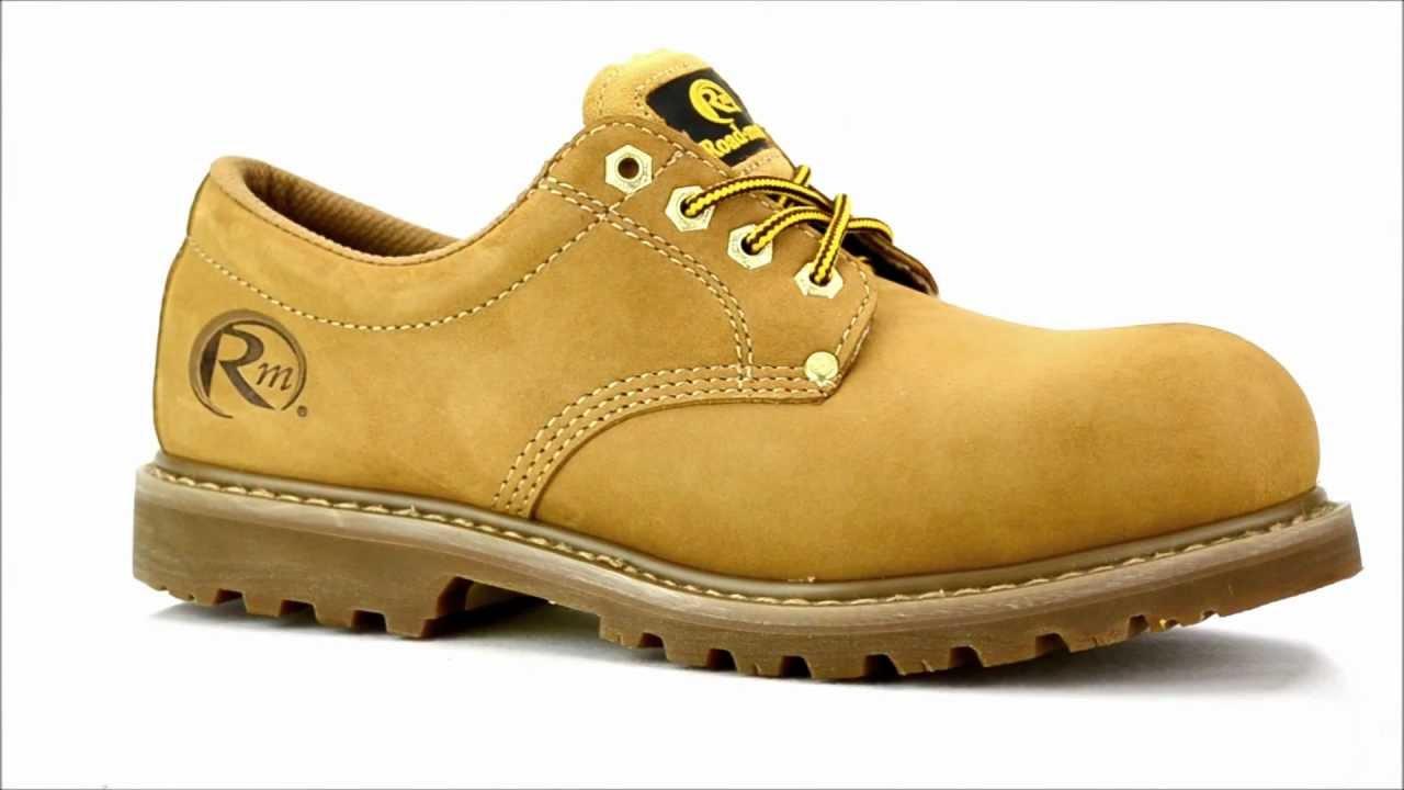 Menu0026#39;s Roadmate S403-NB Steel Toe Work Shoe @ Steel-Toe-Shoes.com - YouTube