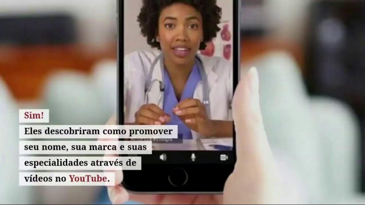 YUTUBE PARA MEDICOS - Aprender estratégias poderosas para aumentar seu