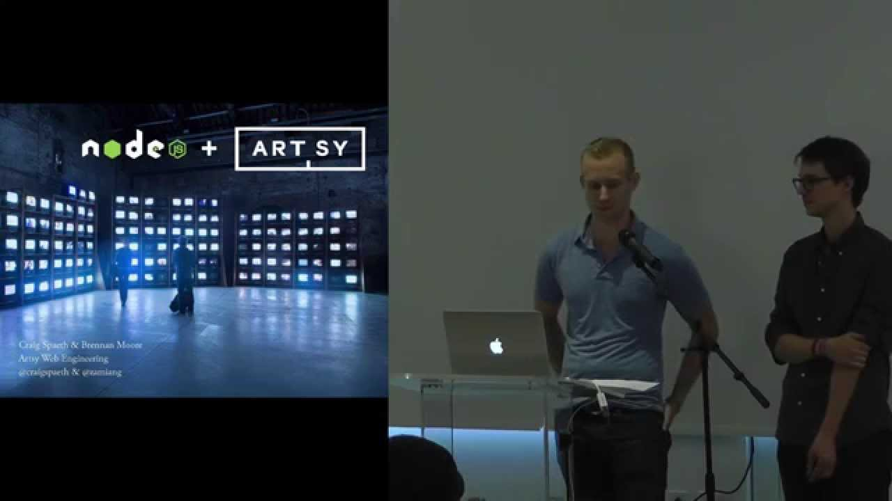 How Artsy Transitioned from Monolithic to a Distributed System - Craig Spaeth and Brennan Moore