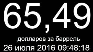 Курс доллара, евро, цена нефти 26 июля 2016 онлайн