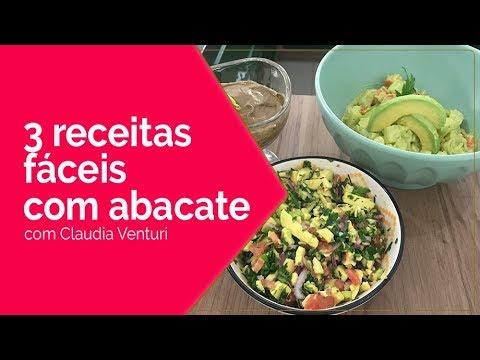 Eu & Você - 3 receitas fáceis com abacate