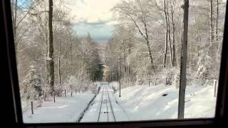 Bergbahn Heidelberg - ein Wintermärchen