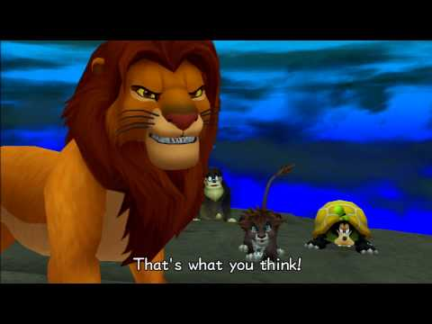 Kingdom Hearts II FM [PS3] Commentary #068, Pride Lands A: Boss: Scar