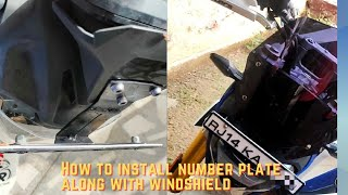How to install number plate al…