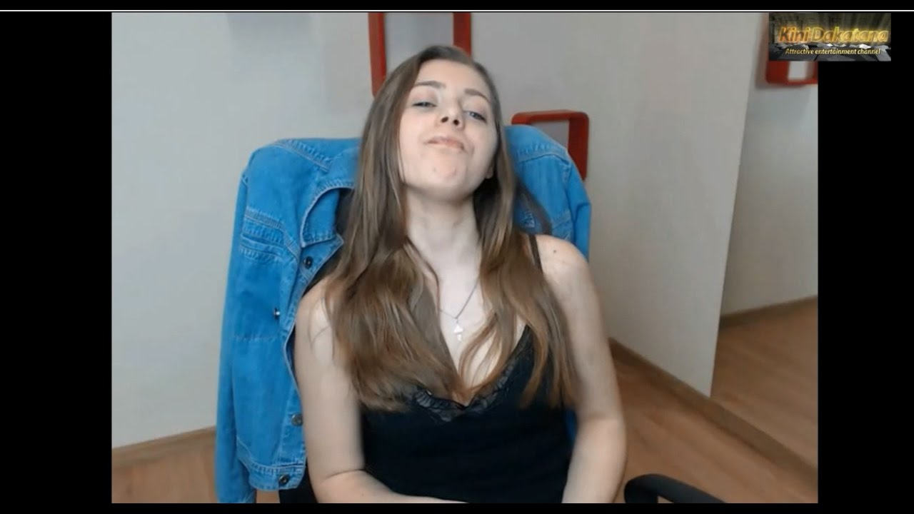 Sexy girl in front of webcam 1 - YouTube