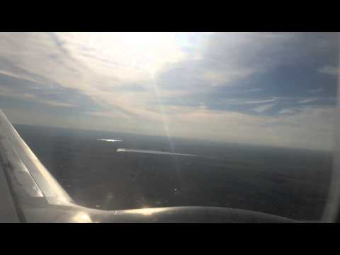 Approach And Landing At Denver International Airport On AirTran