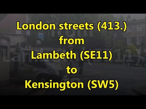 London streets (413.) - Lambeth (SE11) - Kensington (SW5)