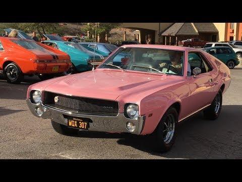 AMX / AMC Javelin Car Show Boulder City 11/4/17
