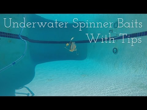 Underwater Spinner Bait with Tips - Bass Fishing Tips and Techniques