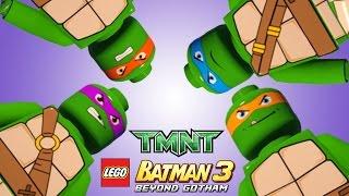 LEGO Batman 3 - Teenage Mutant Ninja Turtles / Tartarugas Ninjas (MOD)