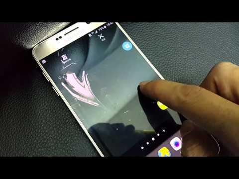 Note 5 App資料夾分類操作~ Samsung Note 4 家族拍攝