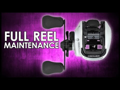Shimano Reel Maintenance | A To Z
