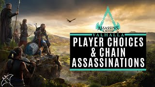 Player Choices & Chain Assassinations | Assassin's Creed Valhalla