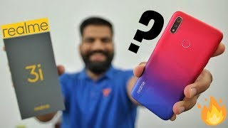 Realme 3i Unboxing & First Look - Best Looking Budget King?