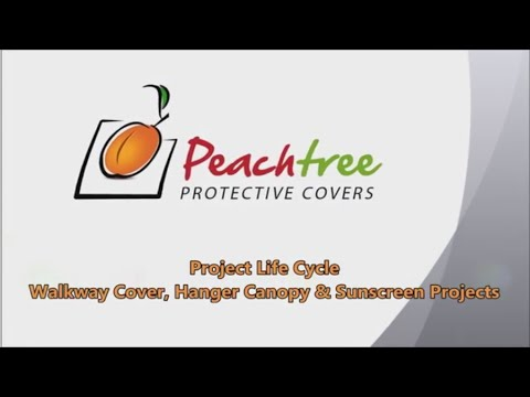 Project Life Cycle u2013 Walkway Cover Hanger Canopy u0026 Sunscreen Projects. Peachtree Protective Covers  sc 1 st  YouTube & Project Life Cycle u2013 Walkway Cover Hanger Canopy u0026 Sunscreen ...