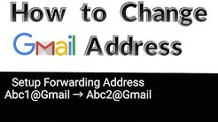 How to Change Gmail Address | It's Working 2018