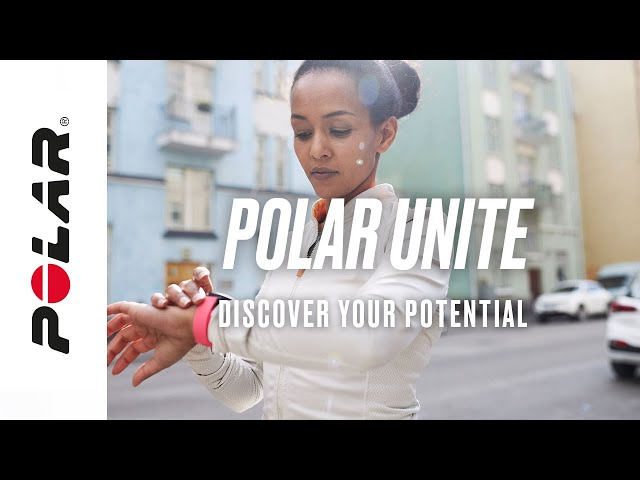 Polar Unite | Fitness Watch with Wrist-based Heart Rate | Discover Your Potential