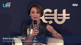 #UkrFinForum18 - Kateryna Rozhkova, WILL POLITICS PREVENT PROGRESS? THE POLICY MAKERS VIEW panel
