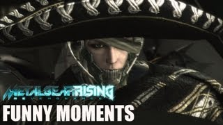 Metal Gear - Rising Revengeance - Funny Moments