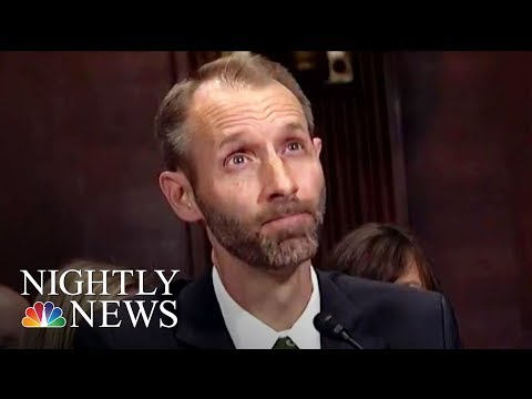 Doanld Trump's Judicial Nominee Struggles To Answer Questions At Hearing | NBC Nightly News